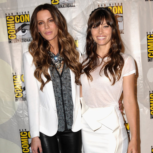 Kate Beckinsale and Jessica Biel at Comic-Con | Pictures