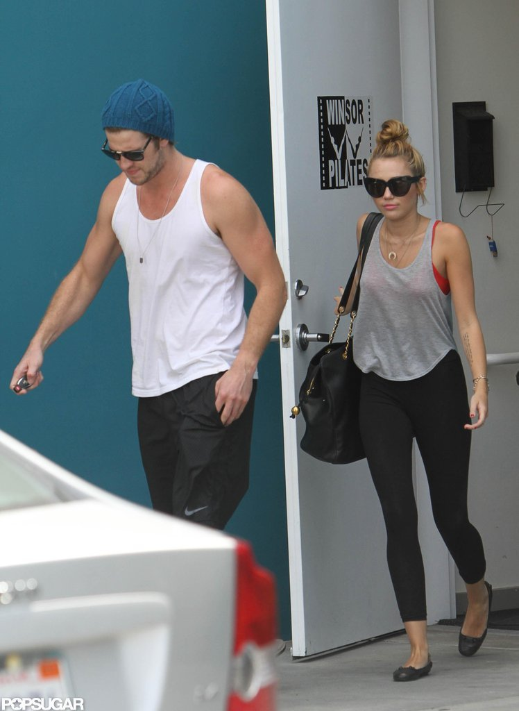 Miley Cyrus and Liam Hemsworth spent time together.