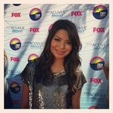 Miranda Cosgrove struck a pose. Source: Instagram user teenchoicegirl