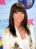 Carly Rae Jepsen at the Teen Choice Awards.