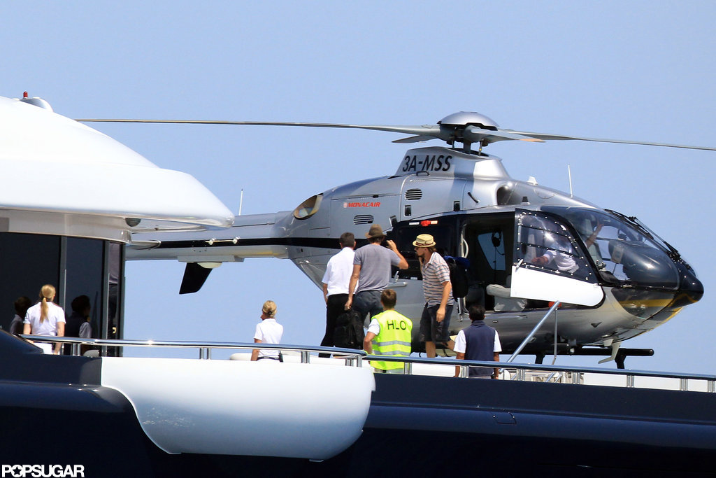 Leonardo DiCaprio Touches Down in France Solo