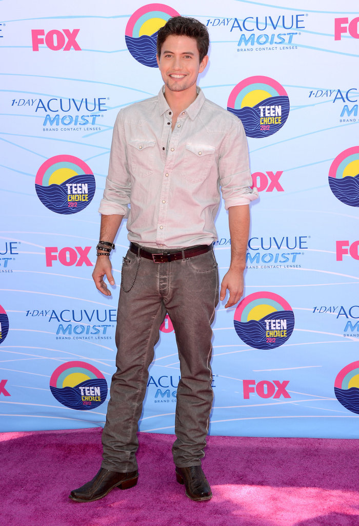 Jackson Rathbone at the Teen Choice Awards.