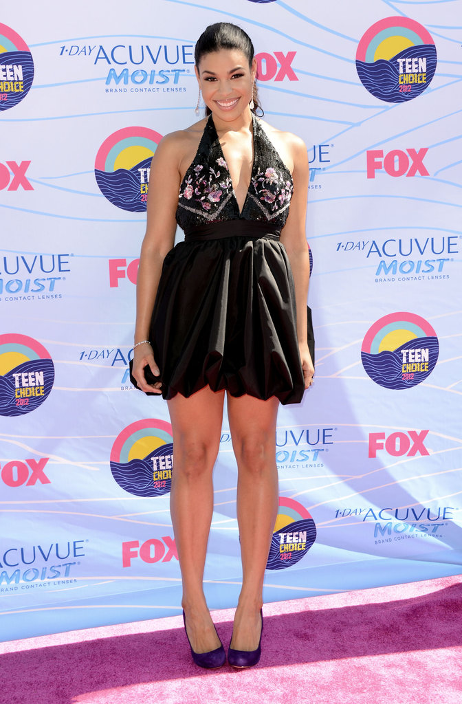 Jordin Sparks at the Teen Choice Awards.