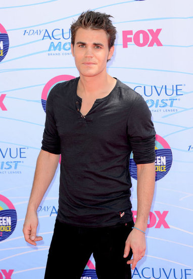 Paul Wesley at the Teen Choice Awards.