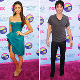 Nina Dobrev and Ian Somerhalder Hit the Teen Choice Awards