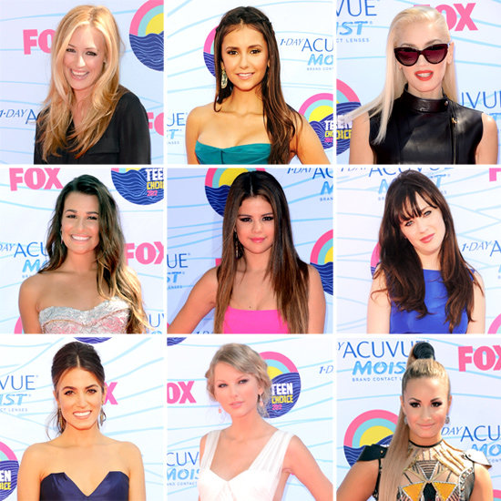 Throwback Thursday: Last Year's Teen Choice Awards Red Carpet Style