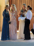 Kirsten Dunst attended the Santa Barbara wedding.