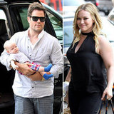 Hilary Duff Hits the Big Apple Streets With Mike and Luca
