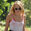 Miley Cyrus Horn Necklace (Pictures)
