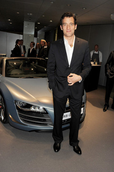 Clive Owen Gets Engines Going at an Audi Party