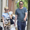 Michelle Williams and Jason Segel Shopping | Pictures