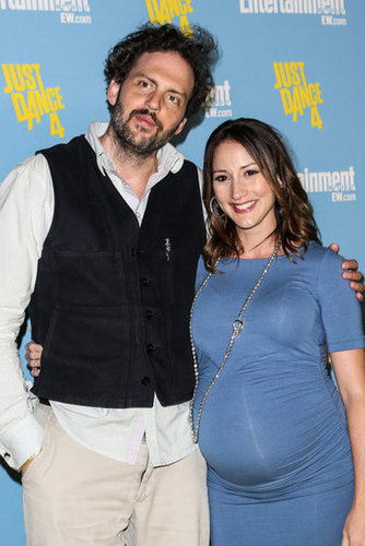 Bree Turner posed with Silas Weir Mitchell to promote Grimm.