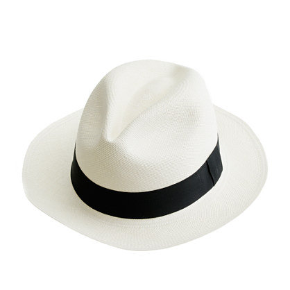 Steal Miranda Kerr's styling trick and add a Panama hat to any of your looks for a street-styled edge (and shade from the sun).  J.Crew Panama Hat ($58)