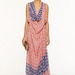A printed draped maxi that will keep you looking cool in the humidity.