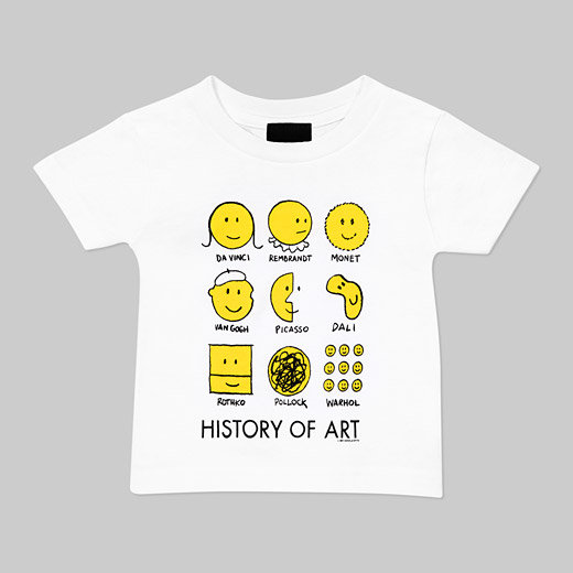 History of Art Kid's T-Shirt ($22)