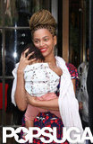 Beyoncé Gets Back to Her City Routine With Blue