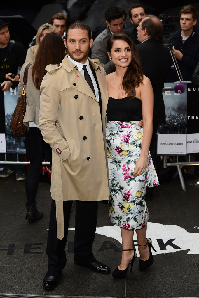 The Dark Knight Rises Stars Get Stylish For Their London Premiere