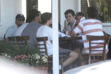 Leonardo DiCaprio lunched with his boys.