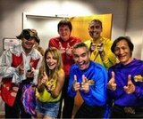 Nicole Richie posed with the members of The Wiggles in July. Source: Twitter user nicolerichie