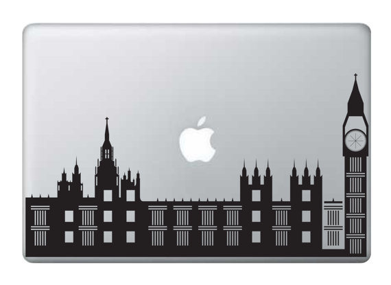 London Skyline Laptop Decal ($13)