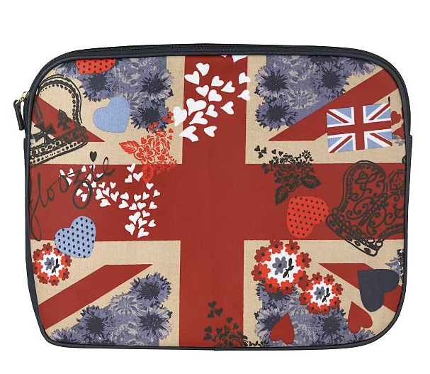 Navy Jubilee Print Laptop Case ($22, originally $27)