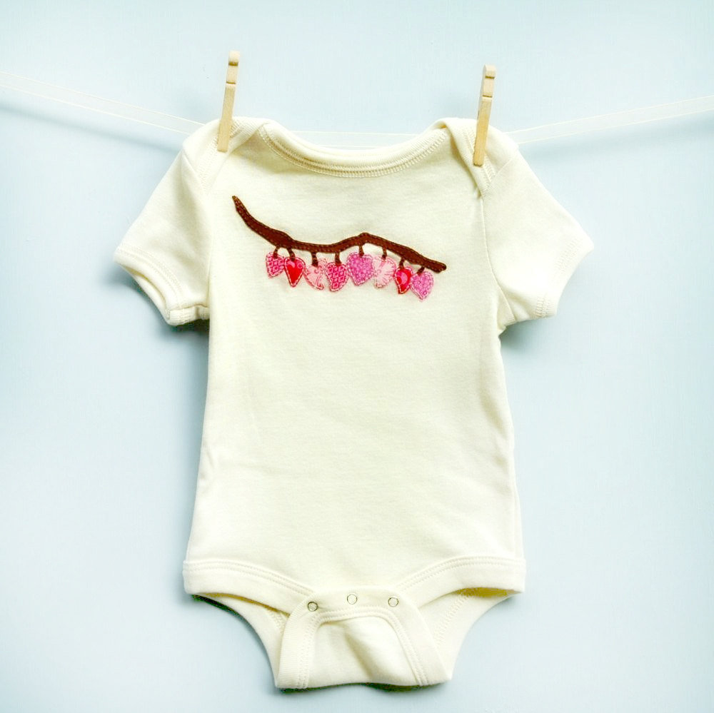 Pink Hearts Infant Bodysuit ($30)