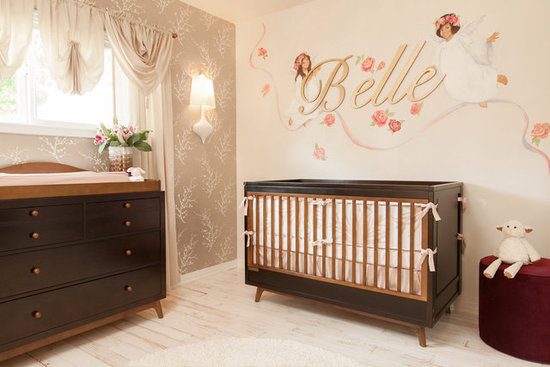 An All-American Crib and Changing Table