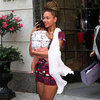 Beyonce Wearing Tribal Romper