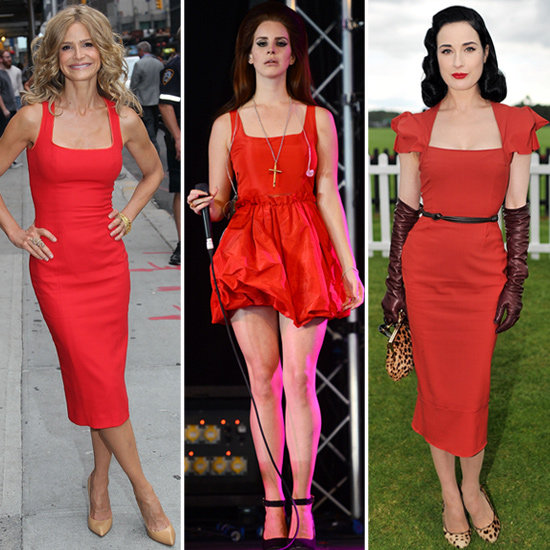 7 Red Celebrity Dresses That Will Make You Seriously Stand Out