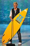 Ellen DeGeneres brought home a board in 2011.