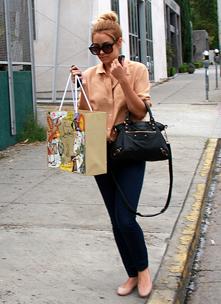 Lauren Conrad enjoyed a day of shopping in West Hollywood.