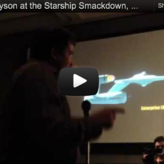 Neil deGrasse Tyson Debates Star Trek at Comic-Con