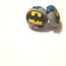 Batman Button Earrings
