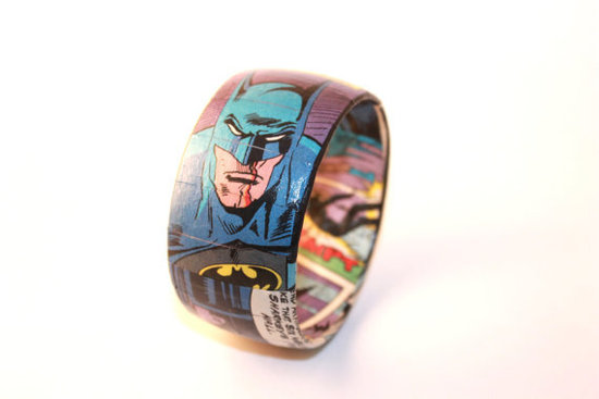Batman Comic Book Bangle Bracelet