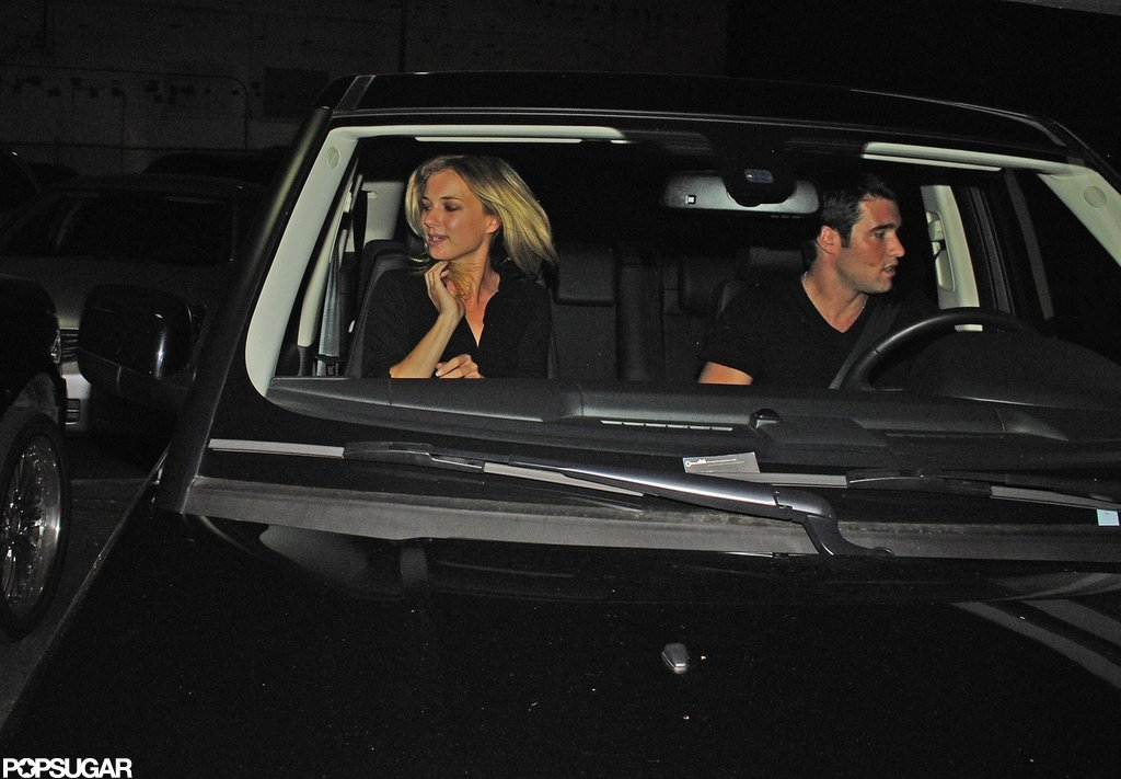 Emily VanCamp and Josh Bowman were seen leaving a club in Hollywood.