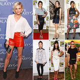 7 Days, 7 Ways: Celebs Prove It's Never Too Hot to Wear Leather