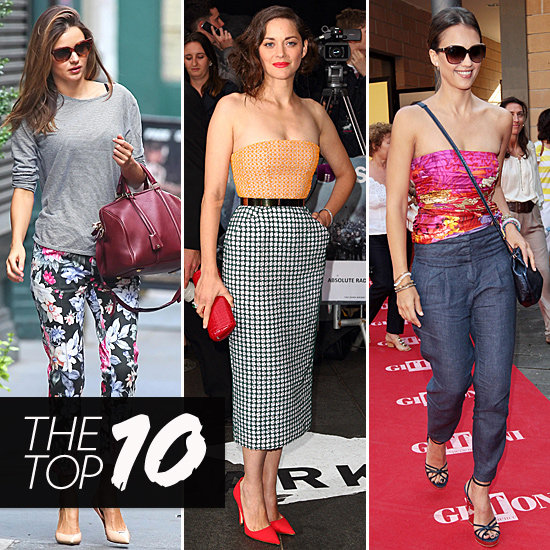 Fab's Top 10: Miranda Kerr, Marion Cotillard, and More!