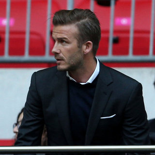 David Beckham und Prinz William bei Olympia-Fußball in London