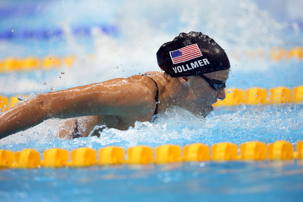 Dana Vollmer Sets New World Record