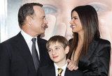 Sandra Bullock was joined by costars Tom Hanks and Thomas Horn at the December 2011 NYC premiere of Extremely Loud & Incredibly Close.