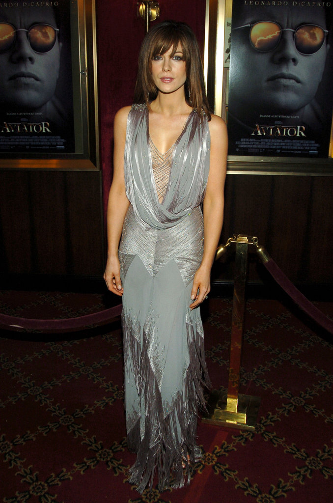 In December 2004, a sexy Kate Beckinsale stepped out for the NYC premiere of The Aviator.
