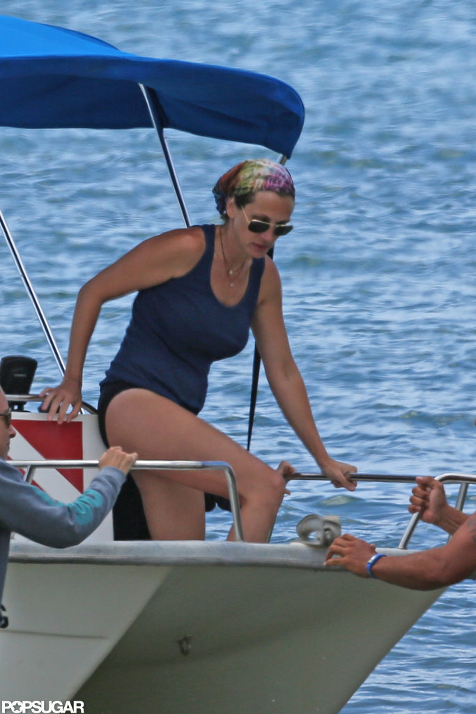 Julia Roberts wore a swimsuit.