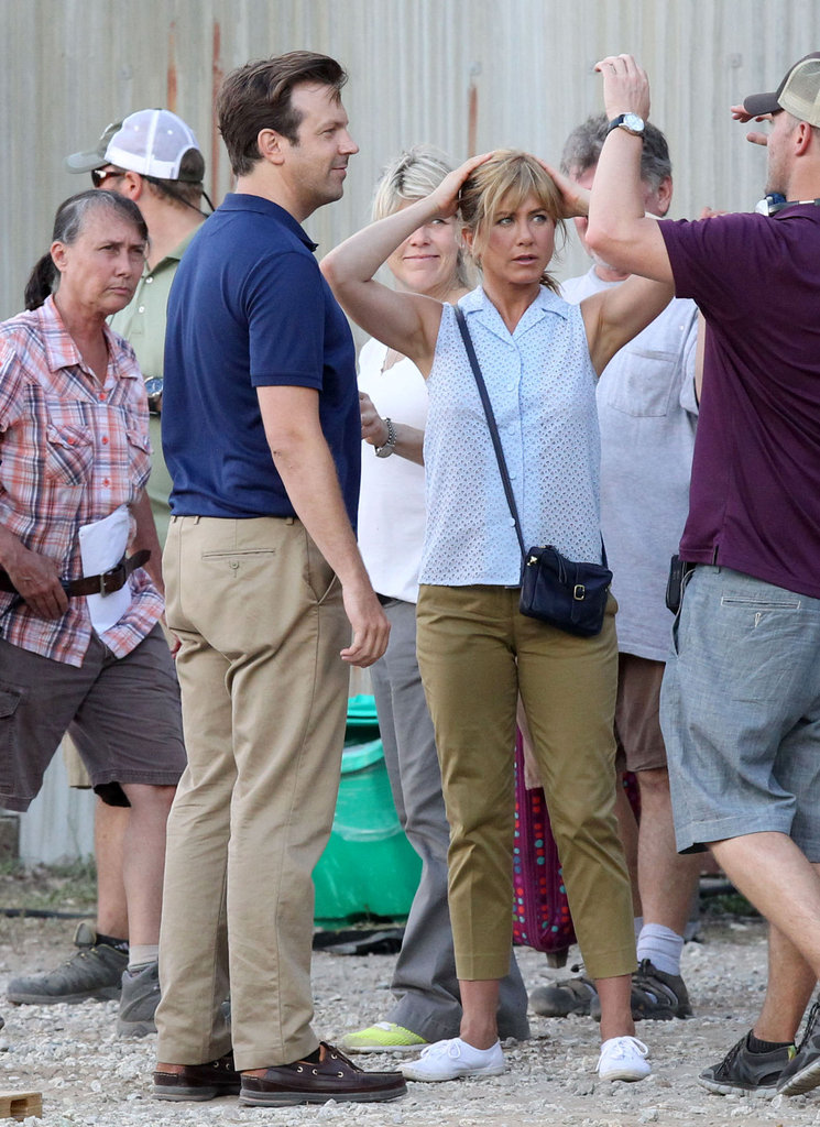 Jennifer Aniston Transforms — and Shows Off Her Guns! — For New Pot Comedy