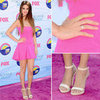 Pictures of Selena Gomez in Dsquared 2 Pink dress on the Red Carpet at the 2012 Teen Choice Awards: Like It?