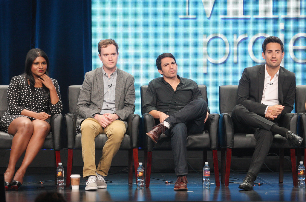 Chris Messina and Ed Weeks play Kaling's fellow doctors on The Mindy Project.