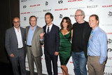 David Dinerstein, William Friedkin, Matthew McConaughey, Gina Gershon, Tracy Letts, and Mickey Liddell were all together for an NYC screening of Killer Joe.