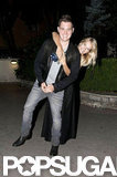 Michael Bublé and his wife, Luisana Lopilato, went out for a romantic date while they were in Rome.
