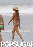 Gisele Bundchen vacationed in Costa Rica.