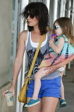 Cobie Smulders hung out in NYC with her daughter Shaelyn.