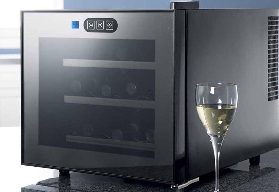 Touchscreen Wine Refrigerator